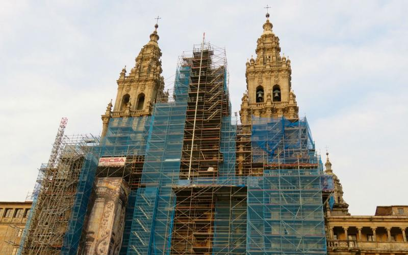 Cathedral of Santiago de Compostela temporarily move its pilgrimsmasses due to renovation